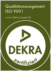 Dekra zertifiziert - Qualitätsmanagement