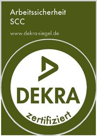 Dekra zertifiziert - Arbeitssicherheit